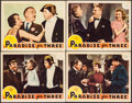 """Movie Posters:Romance, Paradise for Three (MGM, 1938). Lobby Cards (4) (11"""" X 14""""). Romance.. ... (Total: 4 Items)"""