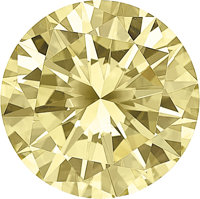 Unmounted Fancy Yellow Diamond