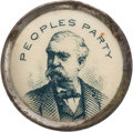 Political:Pinback Buttons (1896-present), James B. Weaver: People's Party Celluloid Stud....