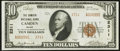 National Bank Notes:Maine, Camden, ME - $10 1929 Ty. 2 The Camden NB Ch. # 2311. ...