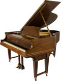 Furniture , A Steinway Duo-Art Repeating Walnut Grand Piano, Model R, Aeolian Action, early 20th century. Serial # 246140.. 40 h x 58 w ...