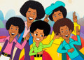 "Animation Art:Production Cel, Jackson 5ive ""I Want You Back"" Production Cel Setup(Rankin-Bass, 1971/72)...."