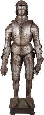 Suit of Armor in the German Gothic Style, 19th Century