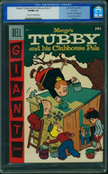 Silver Age (1956-1969):Humor, Dell Giant Comics Marge's Tubby and His CP #1 (Dell, 1956) CGC VF/NM 9.0 Cream to off-white pages.