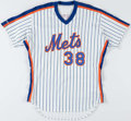 Baseball Collectibles:Uniforms, 1989 Blaine Beatty New York Mets Game Worn Jersey. ...
