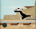 Animation Art:Production Cel, Father of the Bird Sylvester J. Pussycat Production Cel(Warner Brothers, 1997)....