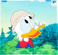Animation Art:Production Cel, DuckTales Uncle Scrooge Production Cel and Master Background(Walt Disney, 1987)....