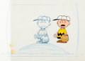 Animation Art:Production Drawing, The Charlie Brown and Snoopy Show Production Cel and LayoutDrawing(Bill Melendez, 1983).... (Total: 2 Items)