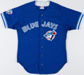 Baseball Collectibles:Uniforms, 1996 Otis Nixon Game Worn Toronto Blue Jays Jersey. ...