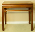 Asian:Chinese, A Chinese Hardwood Altar Table, early 20th century. 36 h x 42 w x19-1/2 d inches (91.4 x 106.7 x 49.5 cm). ...