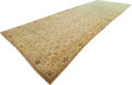 Decorative Arts, Continental, A Large Woven Wool Hallway Runner. 235-1/2 inches high x 86 incheswide (598.2 x 218.4 cm). ...