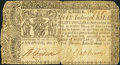 Colonial Notes, Maryland January 1, 1767 $8 Very Good.. ...