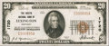 National Bank Notes:Kentucky, Lexington, KY - $20 1929 Ty. 1 The Fayette NB Ch. # 1720. ...
