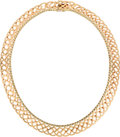 Estate Jewelry:Necklaces, Gold Necklace, Cartier, Swiss. ...