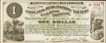 Obsoletes By State:Iowa, Newton, IA- Chicago, Burlington and Pacific Railroad Company $1Apr. 1, 1882. ...