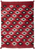 American Indian Art:Weavings, A Navajo Transitional Weaving. c. 1890...