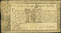 Colonial Notes, Maryland April 10, 1774 $1 Fine....