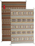 Other, Two Contemporary Navajo Regional Rugs... (Total: 2 Items)