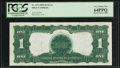 Error Notes:Large Size Errors, Fr. 233 $1 1899 Silver Certificate PCGS Very Choice New 64PPQ.. ...