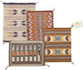 Other, Four Contemporary Navajo Samplers... (Total: 4 Items)