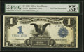 Fr. 236 $1 1899 Silver Certificate PMG About Uncirculated 55 Net