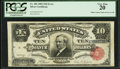 Error Notes:Large Size Errors, Fr. 301 $10 1891 Silver Certificate PCGS Very Fine 20.. ...