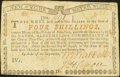 Colonial Notes, New York August 2, 1775 (Water Works) 4s Very Fine-ExtremelyFine....