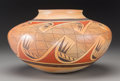 American Indian Art:Pottery, A Hopi Polychrome Jar. Fannie Nampeyo. c. 1969...