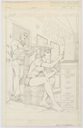 Original Comic Art:Splash Pages, Alan Kupperberg Captain America #271 Unpublished Splash Page1 Original Art (Marvel, 1982)....