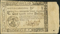 Colonial Notes, South Carolina December 23, 1776 $1 Very Fine-Extremely Fine....