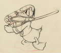Animation Art:Production Drawing, Donald Duck Lonesome Ghosts Sequenced Animation Drawing Group of 4 (Walt Disney, 1937).... (Total: 4 Original Art)