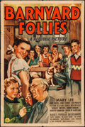 """Movie Posters:Comedy, Barnyard Follies & Other Lot (Republic, 1940). One Sheets (2) (27"""" X 41"""" & 28"""" X 42""""). Comedy.. ... (Total: 2 Items)"""