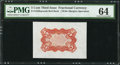 Fractional Currency:Third Issue, Fr. 1236SP 5¢ Third Issue Wide Margin Back PMG Choice Uncirculated 64.. ...