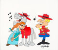 Animation Art:Production Cel, Dudley Do-Right Scene Cel (Jay Ward, c. 1970-80s)....