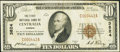 National Bank Notes:Kansas, Centralia, KS - $10 1929 Ty. 1 The First NB of Centralia Ch. # 3824. ...