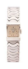 Estate Jewelry:Watches, Ulysse Nardin Lady's White Gold Watch. ...