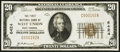 National Bank Notes, West Union, WV - $20 1929 Ty. 1 Fr. 1801-1 The First NB Ch. #6424...