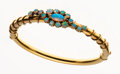 Estate Jewelry:Bracelets, Opal, Gold Bangle. ...