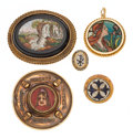 Estate Jewelry:Lots, Micromosaic, Gold Jewelry. ...