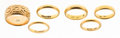Estate Jewelry:Rings, Gold Rings. ...