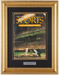Baseball Collectibles:Publications, 1954 1st Sports Illustrated Magazine Display....