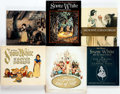 Memorabilia:Disney, Snow White Related Hardcover First Edition Books Group of 6 (Various Publishers, 1979-2012).... (Total: 6 Comic Books)
