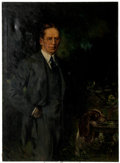 Original Comic Art:Paintings, Howard Chandler Christy Portrait of Congressman Hornor Painting Original Art (1945)...