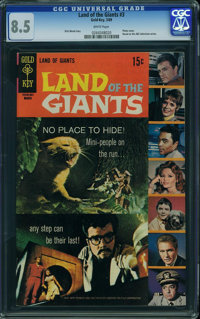 Land of the Giants #3 (Gold Key, 1969) CGC VF+ 8.5 White pages