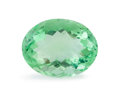 Gems:Faceted, Gemstone: Fluorite - 13.8 cts.. Brazil. 16.4 x 12.8 x 10mm. ...