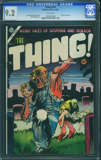 The Thing! #16 (Charlton, 1954) CGC NM- 9.2 White pages