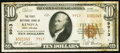National Bank Notes, Kenova, WV - $10 1929 Ty. 2 Fr. 1801-1 The First NB Ch. # 9913...