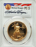 Modern Bullion Coins, 1992-W $50 One-Ounce Gold Eagle, Michael Reagan Signature, PR70 Deep Cameo PCGS. PCGS Population: (94). NGC Census: (0)....