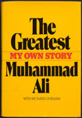 """Boxing Collectibles:Autographs, Muhammad Ali """"The Greatest of All Time"""" Signed Hardcover Book. ..."""