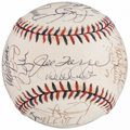 Autographs:Baseballs, 2000 American League All-Star Team Signed Baseball. ...